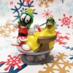 キャラクター  ルーニーチューンズ マービン PVC クリスマスオーナメント