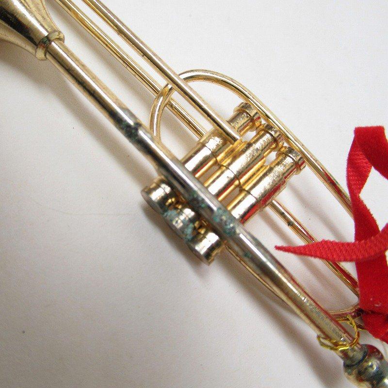 クリスマスオーナメント メタル製 楽器オーナメント2個セット【画像6】