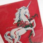 クリスマス イギリス製 プレゼント用カードタグ4枚セット デッドストック