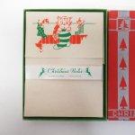 クリスマス レターセット ボックス付き