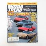 モーター系マガジン  ヴィンテージマガジン Motor Trend 1983年5月号