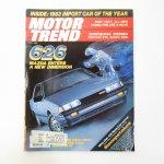 モーター系マガジン  ヴィンテージマガジン Motor Trend 1983年4月号