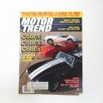 モーター系マガジン  ヴィンテージマガジン Motor Trend 1983年1月号