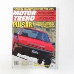 モーター系マガジン  ヴィンテージマガジン Motor Trend 1982年11月号