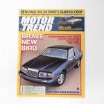モーター系マガジン  ヴィンテージマガジン Motor Trend 1982年10月号