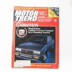 モーター系マガジン  ヴィンテージマガジン Motor Trend 1981年6月号