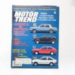 モーター系マガジン  ヴィンテージマガジン Motor Trend 1981年3月号