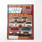 ヴィンテージマガジン Motor Trend 1981年2月号
