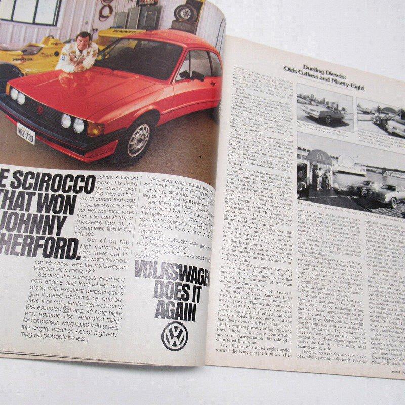 ヴィンテージマガジン Motor Trend 1981年1月号【画像4】