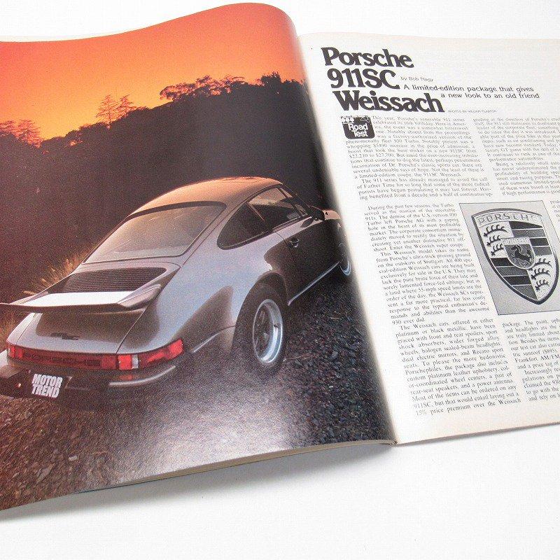 ヴィンテージマガジン Motor Trend 1981年1月号【画像5】