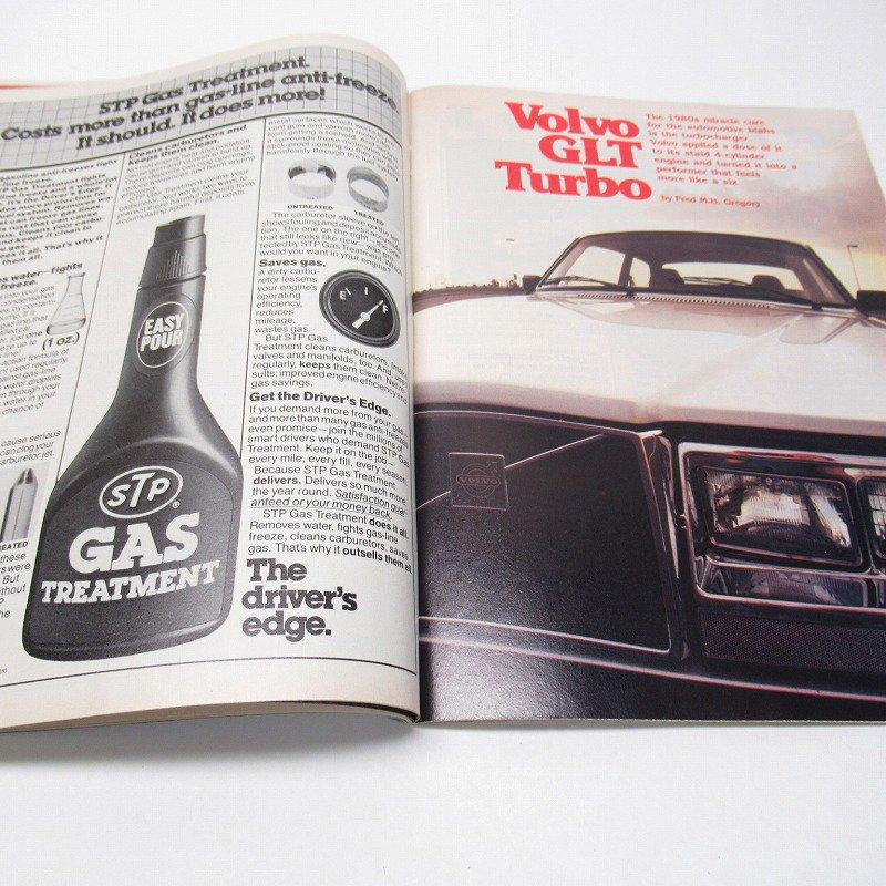 ヴィンテージマガジン Motor Trend 1981年1月号【画像6】