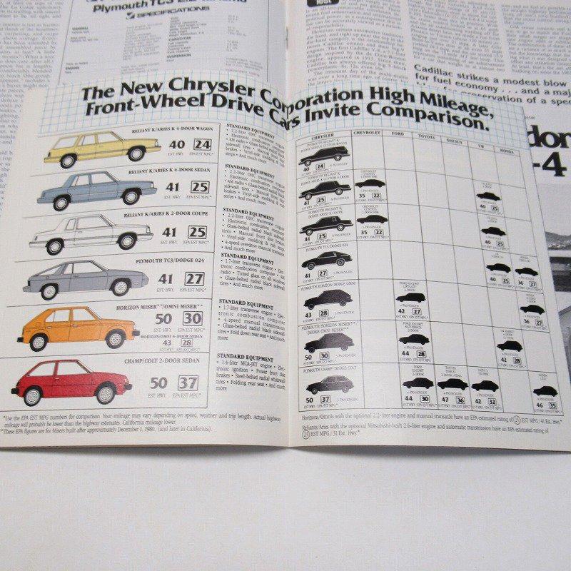 ヴィンテージマガジン Motor Trend 1981年1月号【画像8】