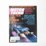ヴィンテージマガジン Motor Trend 1980年7月号