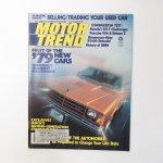 モーター系マガジン  ヴィンテージマガジン Motor Trend 1978年9月号