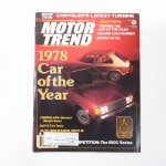 ヴィンテージマガジン Motor Trend 1978年2月号