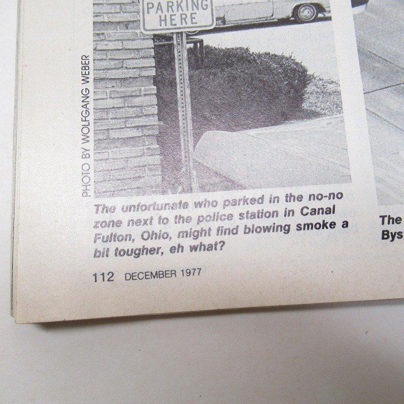 ヴィンテージマガジン Motor Trend 1977年12月号【画像14】