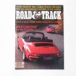 モーター系マガジン  ヴィンテージマガジン Road & Track 1983年2月号
