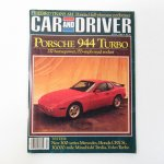 ヴィンテージマガジン Car & Driver 1985年4月号