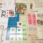 チケット、スコアパッドなどの紙物・紙モノ雑貨 紙モノアソート ヴィンテージペーパービッグセット K