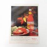 ヴィンテージ広告マガジン切抜き  ライフ 1960年代 LIFE誌広告 チリペッパーケチャップ