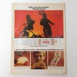 ヴィンテージ広告マガジン切抜き  ライフ 1960年代 LIFE誌広告 Wonder Bread