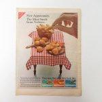 ヴィンテージ広告マガジン切抜き  ライフ 1960年代 LIFE誌広告 ナビスコ ミニチュアブレッド