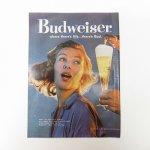 ヴィンテージ広告マガジン切抜き  ライフ 1960年代 LIFE誌広告 バドワイザー & クエーカーオーツ