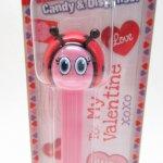 バレンタイン  バレンタイン PEZ 2020年度版 Love Bug 未開封 詰め替えキャンディ付き