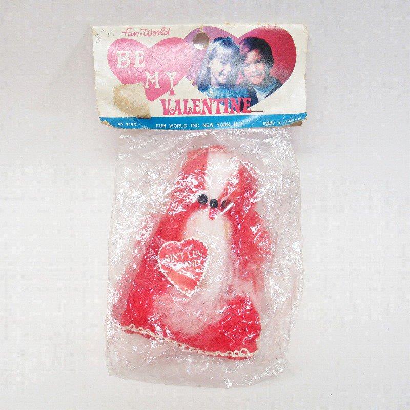 バレンタインドッグ 米国輸出用日本製 レトロぬいぐるみ デッドストック