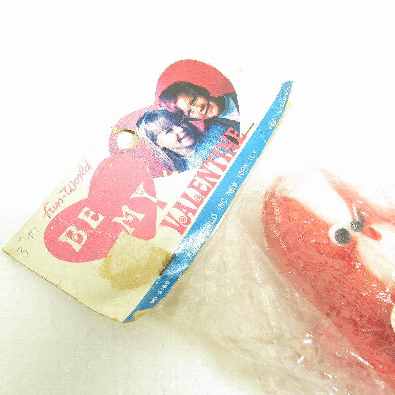 バレンタインドッグ 米国輸出用日本製 レトロぬいぐるみ デッドストック【画像2】