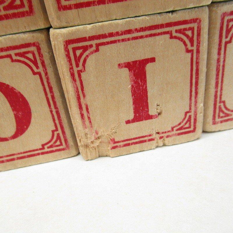 アルファベット ブロック 木製 20個セット【画像14】