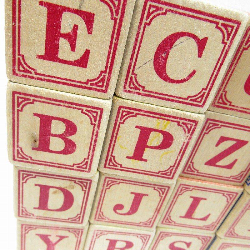 アルファベット ブロック 木製 20個セット【画像17】