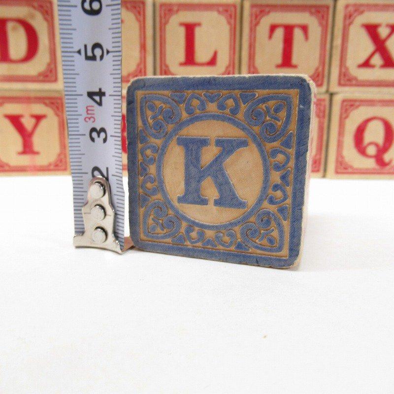 アルファベット ブロック 木製 20個セット【画像18】