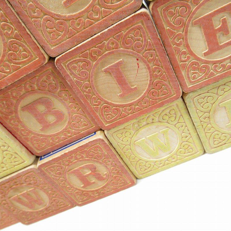アルファベット ブロック 木製 20個セット【画像6】