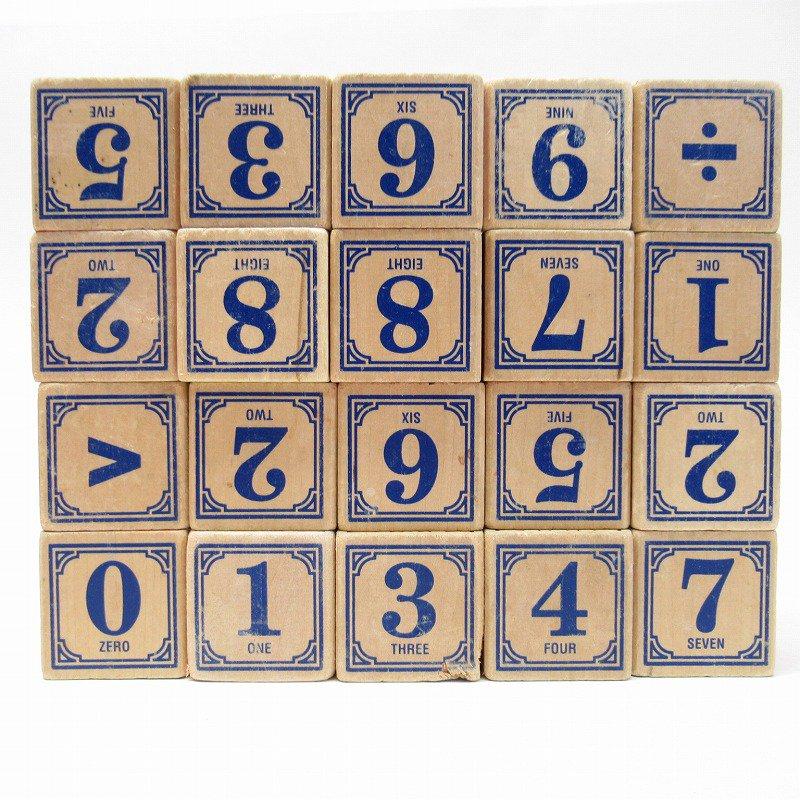 アルファベット ブロック 木製 20個セット【画像7】
