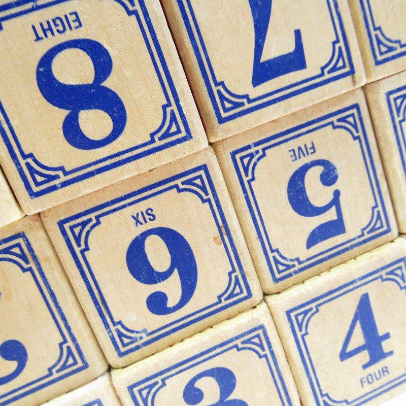 アルファベット ブロック 木製 20個セット【画像8】