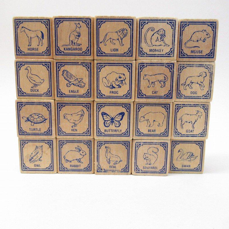 アルファベット ブロック 木製 20個セット【画像10】
