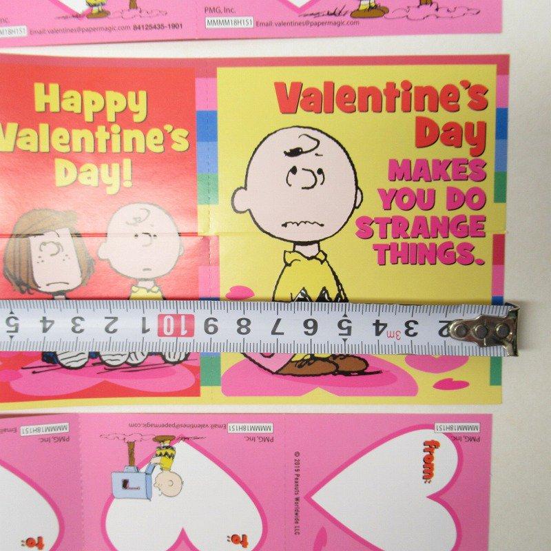 スヌーピー バレンタインカード32枚入り 未使用ボックス入り【画像16】