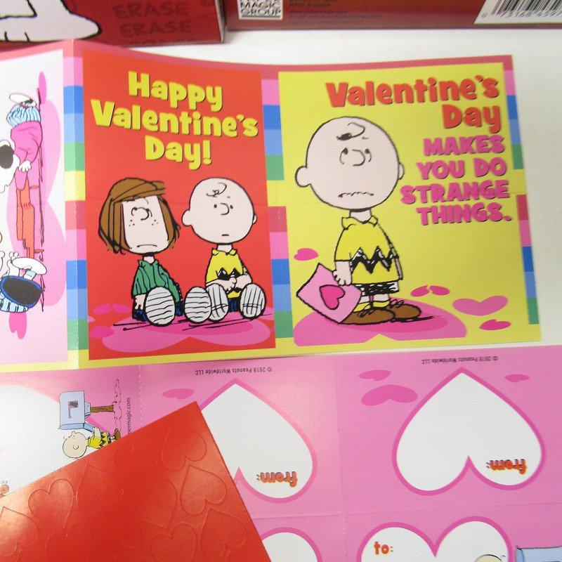 スヌーピー バレンタインカード32枚入り 未使用ボックス入り【画像6】