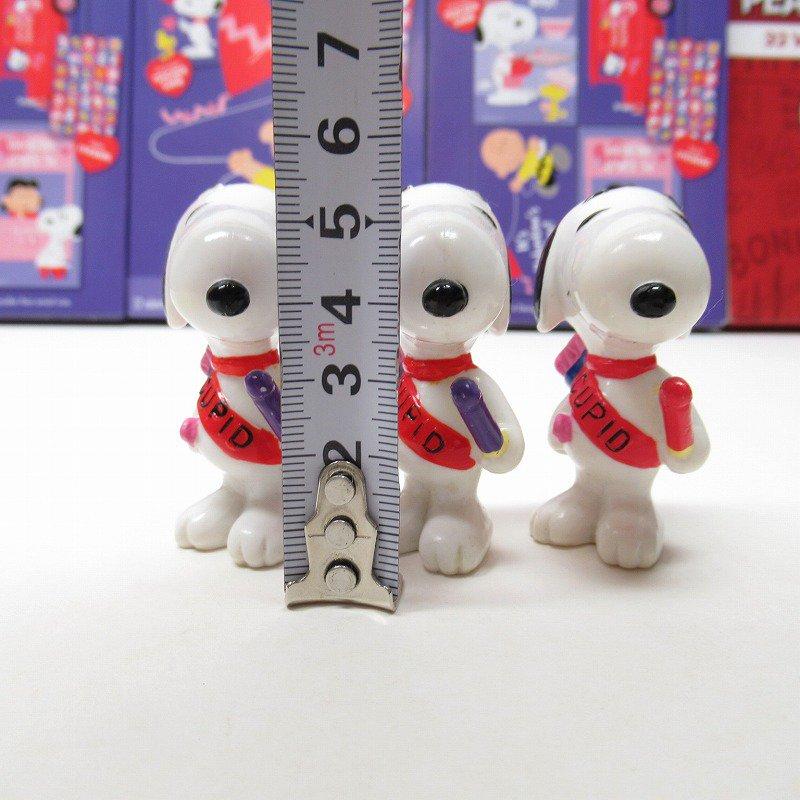 スヌーピー バレンタイン ホイットマンズ PVCトイ キューピッド【画像10】