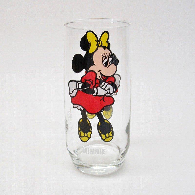 ミニー ペプシ販促グラス ディズニー シングルキャラクターズシリーズ