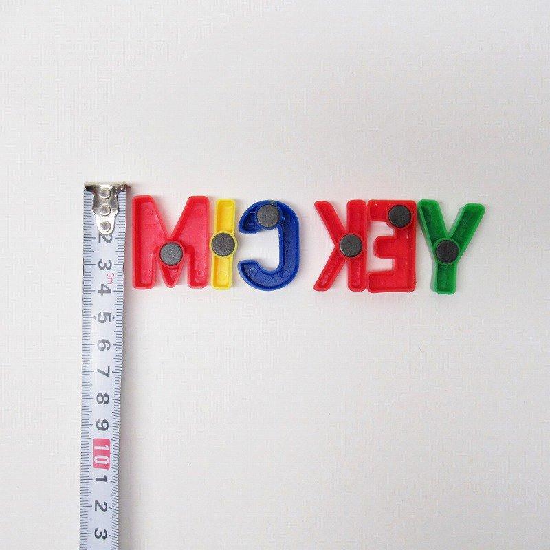 アルファベット マグネット MICKEY ミッキー【画像5】