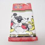 他・アメリカンキッチン&リビングアイテム  ミッキーマウス ボーダー 壁紙 未使用未開封