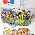 他・アメリカンキッチン&リビングアイテム  ミッキーマウス 1984年 ウォールデコレーションセット 箱付き