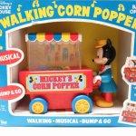 ミッキーマウス 1980年代 ポップコーンカートトイ 箱付き