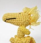 スヌーピー の親友 ウッドストック Determined社 ミニミニ 編み編みプラッシュドール