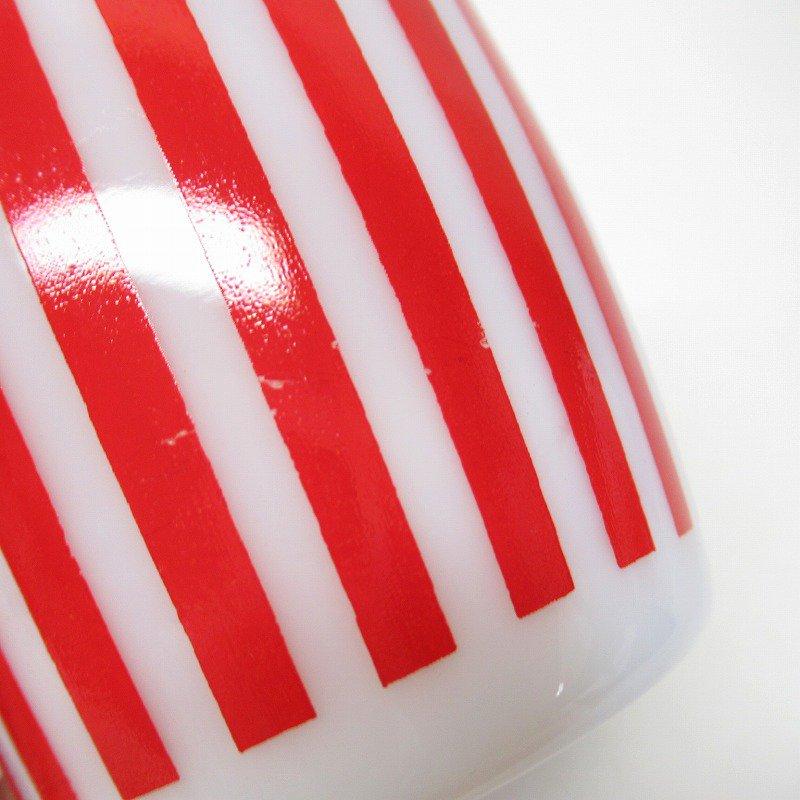 ヘーゼルアトラス キャディーストライプマグ 赤 B【画像15】