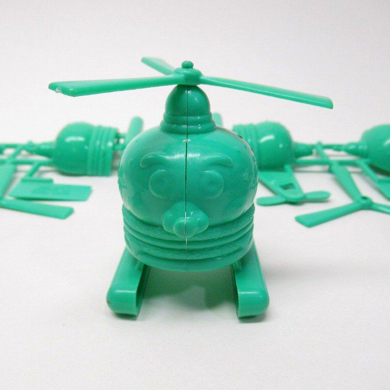 マクドナルド 1986年 ミールトイ エアポートシリーズ ビッグマックコプター 緑【画像6】