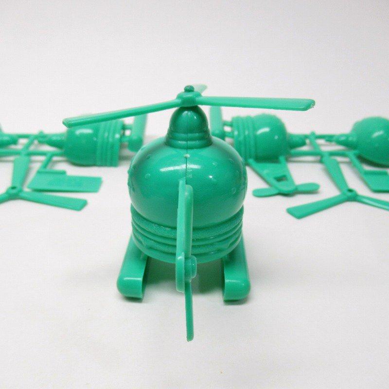 マクドナルド 1986年 ミールトイ エアポートシリーズ ビッグマックコプター 緑【画像8】