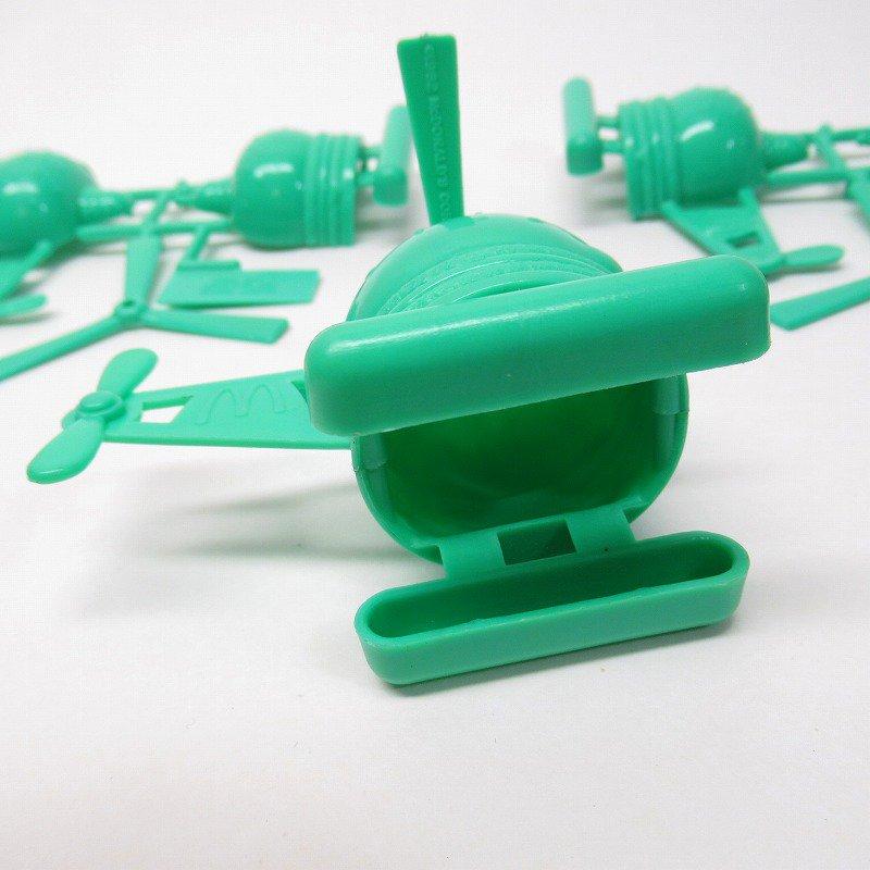 マクドナルド 1986年 ミールトイ エアポートシリーズ ビッグマックコプター 緑【画像9】